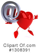 Heart Character Clipart #1308391 by Julos
