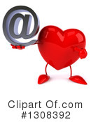 Heart Character Clipart #1308392 by Julos