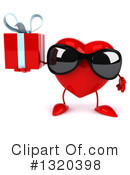 Heart Character Clipart #1320398 by Julos