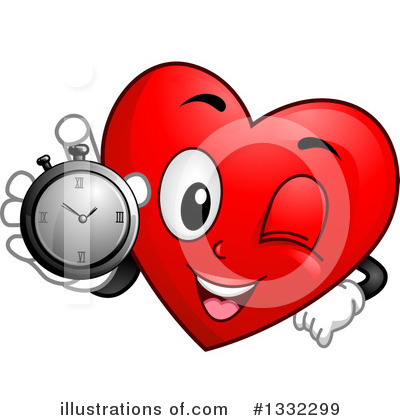 Heart Clipart #1332299 by BNP Design Studio