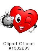 Royalty-Free (RF) Heart Character Clipart Illustration #1332299