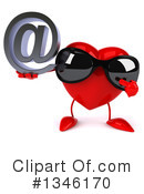 Heart Character Clipart #1346170 by Julos