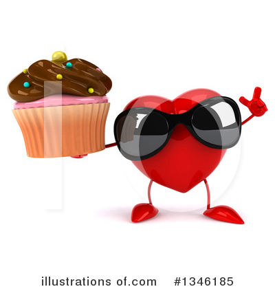 Heart Character Clipart #1346185 by Julos