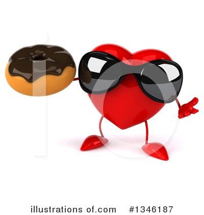Heart Character Clipart #1346187 by Julos