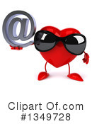 Royalty-Free (RF) Heart Character Clipart Illustration #1349728