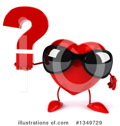 Heart Character Clipart #1349729 by Julos