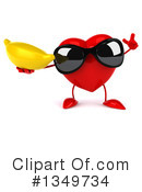 Royalty-Free (RF) Heart Character Clipart Illustration #1349734