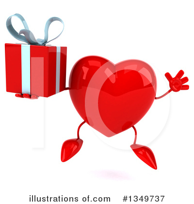 Heart Character Clipart #1349737 by Julos