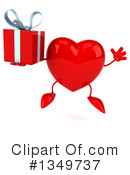 Royalty-Free (RF) Heart Character Clipart Illustration #1349737