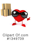 Royalty-Free (RF) Heart Character Clipart Illustration #1349739