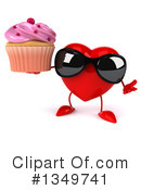 Royalty-Free (RF) Heart Character Clipart Illustration #1349741