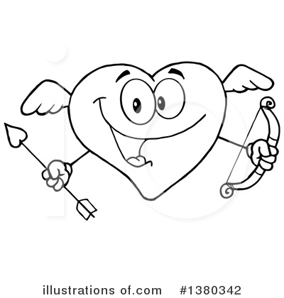 Cupid Clipart #1380342 by Hit Toon