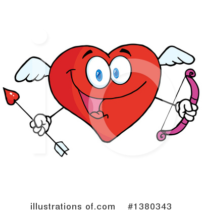 Heart Character Clipart #1380343 by Hit Toon