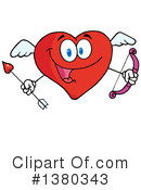 Heart Character Clipart #1380343