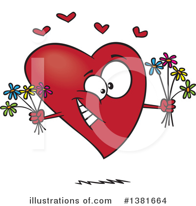 Valentines Day Clipart #1381664 by toonaday
