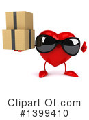 Heart Character Clipart #1399410 by Julos