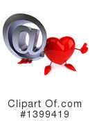 Heart Character Clipart #1399419 by Julos