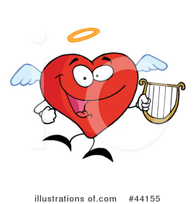 Heart Character Clipart #44155 by Hit Toon