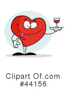 Heart Character Clipart #44156