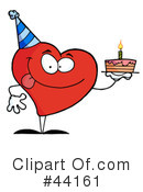 Heart Character Clipart #44161 by Hit Toon
