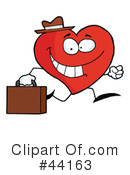 Heart Character Clipart #44163 by Hit Toon