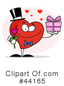 Heart Character Clipart #44165 by Hit Toon
