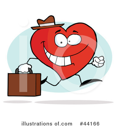 Heart Character Clipart #44166 by Hit Toon