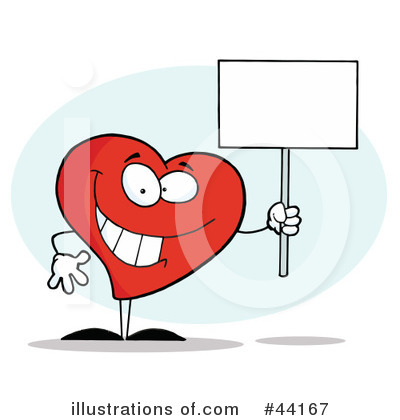 Heart Character Clipart #44167 by Hit Toon