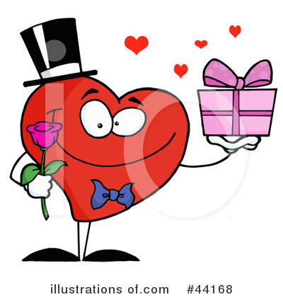 Heart Character Clipart #44168 by Hit Toon