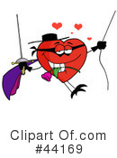 Heart Character Clipart #44169 by Hit Toon