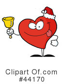 Royalty-Free (RF) heart character Clipart Illustration #44170