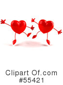Heart Character Clipart #55421 by Julos