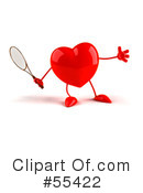 Heart Character Clipart #55422 by Julos
