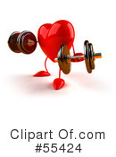 Heart Character Clipart #55424 by Julos