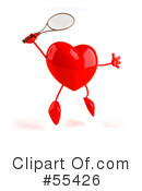 Heart Character Clipart #55426 by Julos