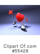 Heart Character Clipart #55428 by Julos