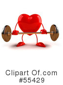 Heart Character Clipart #55429 by Julos