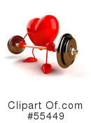 Heart Character Clipart #55449 by Julos