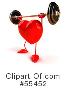 Heart Character Clipart #55452 by Julos