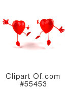 Heart Character Clipart #55453 by Julos