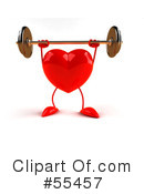 Heart Character Clipart #55457 by Julos