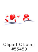 Heart Character Clipart #55459 by Julos