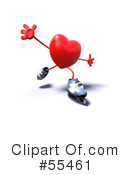 Heart Character Clipart #55461 by Julos