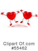 Heart Character Clipart #55462 by Julos