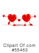 Heart Character Clipart #55463 by Julos