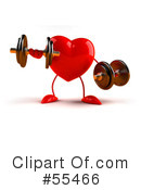 Heart Character Clipart #55466 by Julos