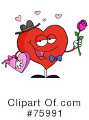Heart Character Clipart #75991 by Hit Toon