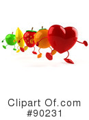 Heart Character Clipart #90231 by Julos