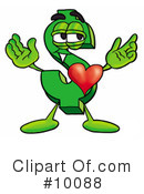 Royalty-Free (RF) Heart Clipart Illustration #10088