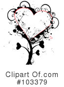 Royalty-Free (RF) Heart Clipart Illustration #103379